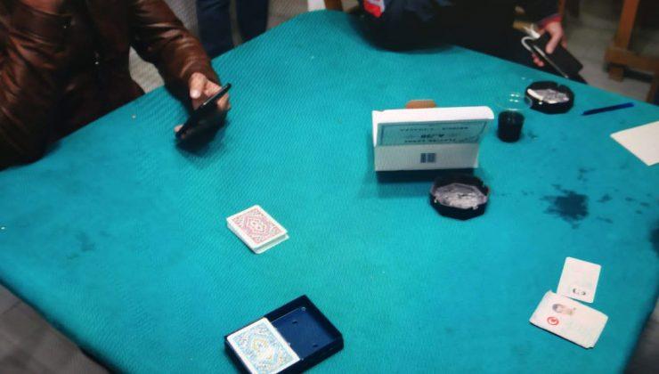Barakada kumar oynarken yakalanan 13 kişiye 52 bin 650 lira ceza