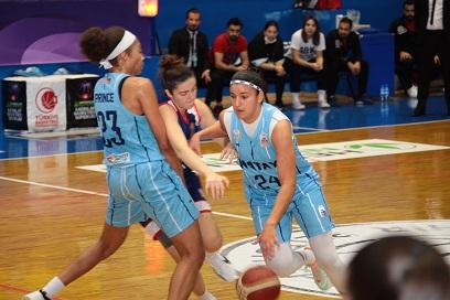 Kadınlar Basketbol Süper Ligi: Hatay Büyükşehir Belediyespor: 68 – Büyükşehir Belediye Adana: 58