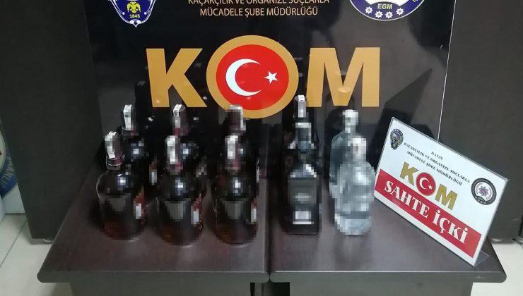 Antakya'da gümrük kaçağı içki ele geçirildi