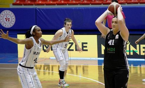 Kadınlar Basketbol Süper Ligi: Hatay Büyükşehir Belediyespor: 57 – Beşiktaş HDI Sigorta Basketbol: 69