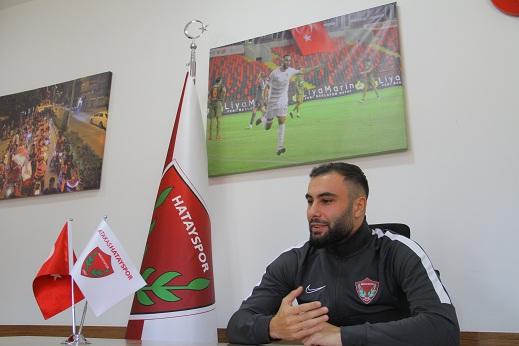 """Selim Ilgaz: """"Hatayspor'da gerçek aile gibi olduk"""""""