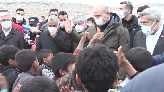İçişleri Bakanı Süleyman Soylu İdlib'de