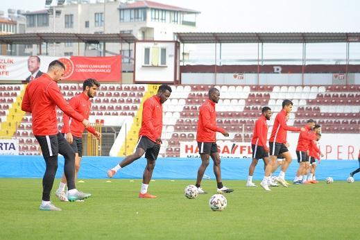 Hatayspor, Gençlerbirliği maçının hazırlıklarını tamamladı