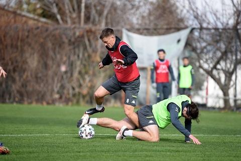 Denizlispor, Hatayspor maçı hazırlıklarını sürdürüyor