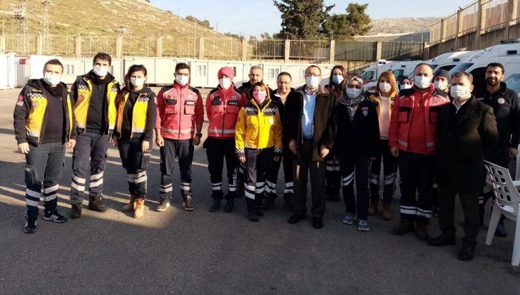 Hambolat'tan sınır hattına ziyaret