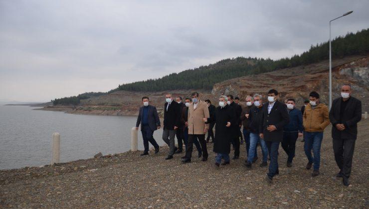 Tantaköprü Barajında doluluk en yüksek seviyede