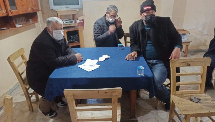Samandağ'da kıraathaneye kumar baskını