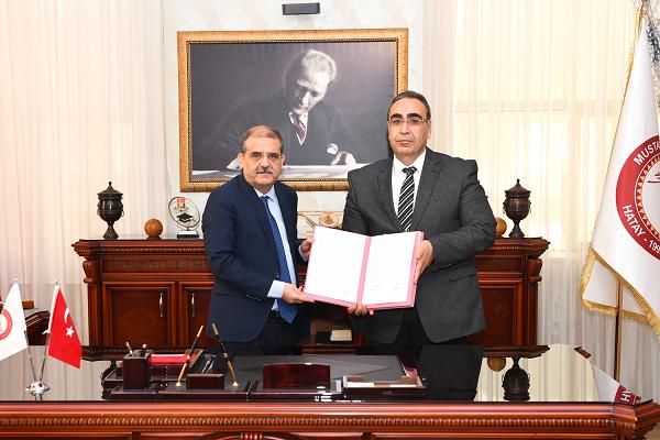 MKÜ'de tedavi hizmet protokolü imzalandı