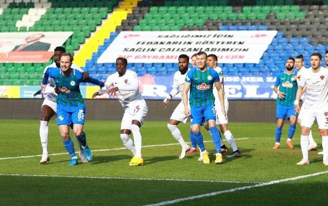 Süper Lig: Çaykur Rizespor: 1 – A. Hatayspor: 0 (Maç sonucu)