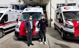 Hatay'ın 7 yeni ambulansı göreve başladı
