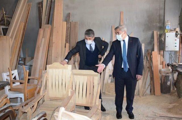 Kırıkhanlı marangozlara yeni tesis