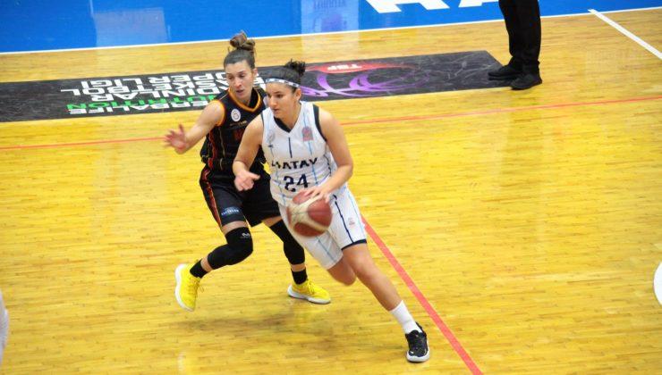 Kadınlar Basketbol Süper Ligi: Hatay Büyükşehir Belediyespor: 63 – Galatasaray: 74