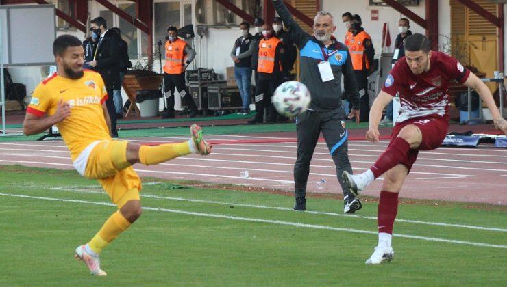 Süper Lig: A. Hatayspor: 1 – Hes Kablo Kayserispor: 3 (Maç sonucu)
