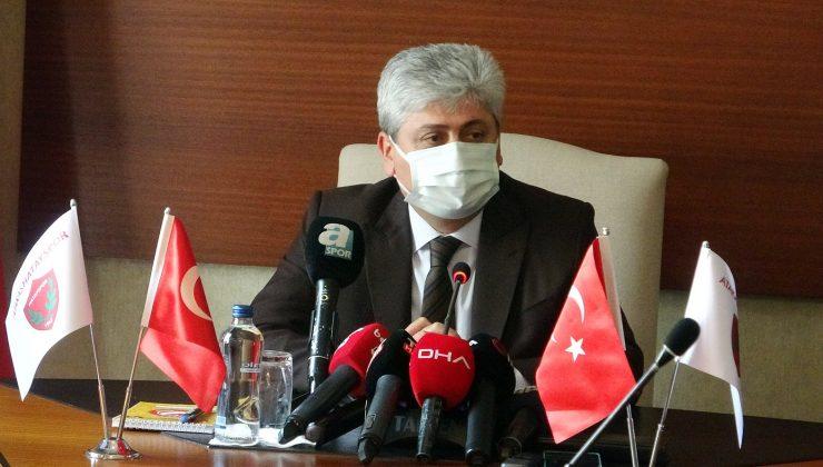 25 bin kişilik Hatay Stadı, Hatayspor'a kiralandı