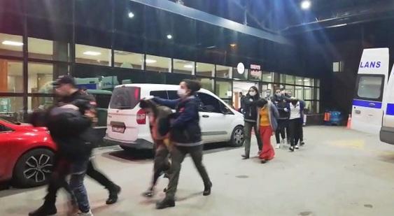 Hatay'da uyuşturucu operasyonu: 4 tutuklama