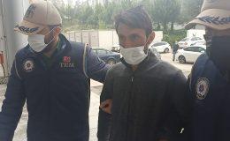 Hatay'da bombalı eylem hazırlığındaki terörist adliyeye sevk edildi
