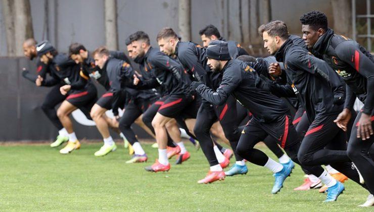 Galatasaray'da Hatayspor mesaisi sürüyor