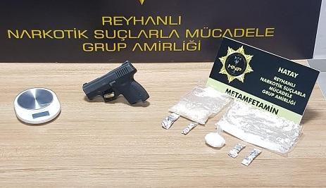 Hatay'da uyuşturucu operasyonuna 4 tutuklama