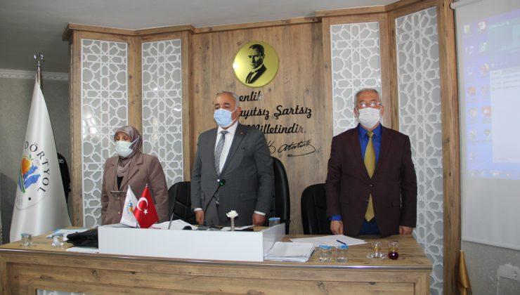 Dörtyol Belediye Meclisi toplandı