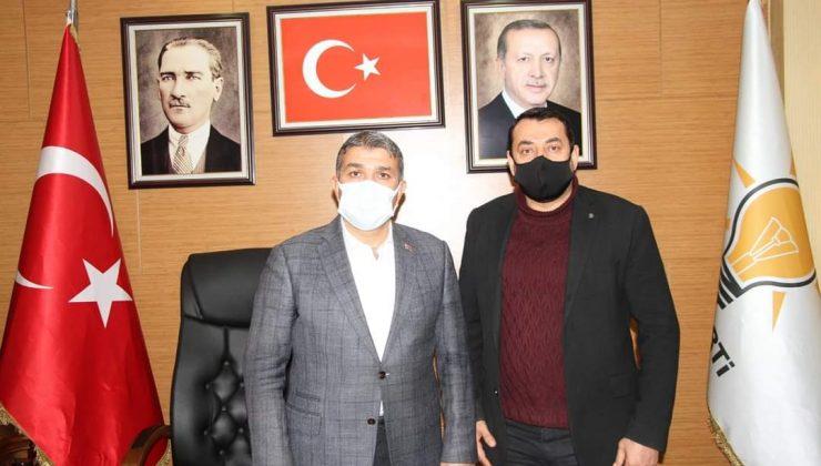 İş İnsanı Mehmet Özkan'dan Yeşildal'a ziyaret