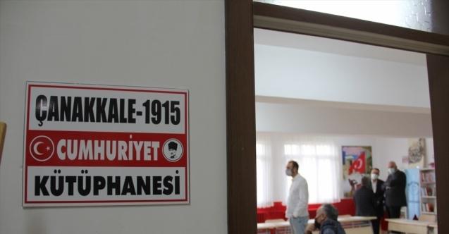 KIRIKHAN'DA ÇANAKKALE 1915 CUMHURİYET KÜTÜPHANESİ HİZMETE AÇILDI