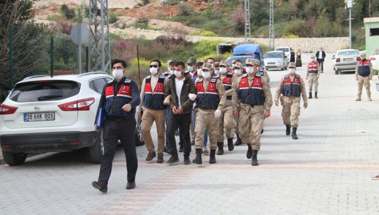 Altınözü'deki uyuşturucu operasyonunda 7 tutuklama