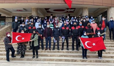 Lise öğrencilerinden polislere kavga ihbarıyla sürpriz