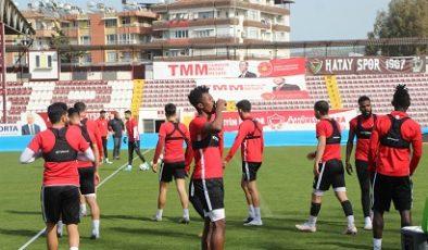 Hatayspor, Göztepe'ye hazırlanıyor