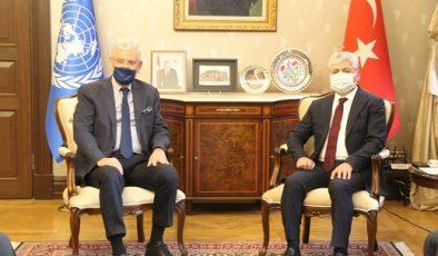 BM 75. Genel Kurul Başkanı Volkan Bozkır Hatay'da