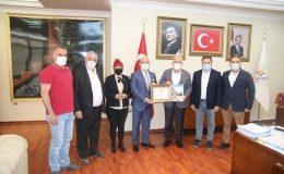 HGC'DEN BAŞKAN TOSYALI VE GÜL'E NEZAKET ZİYARETİ
