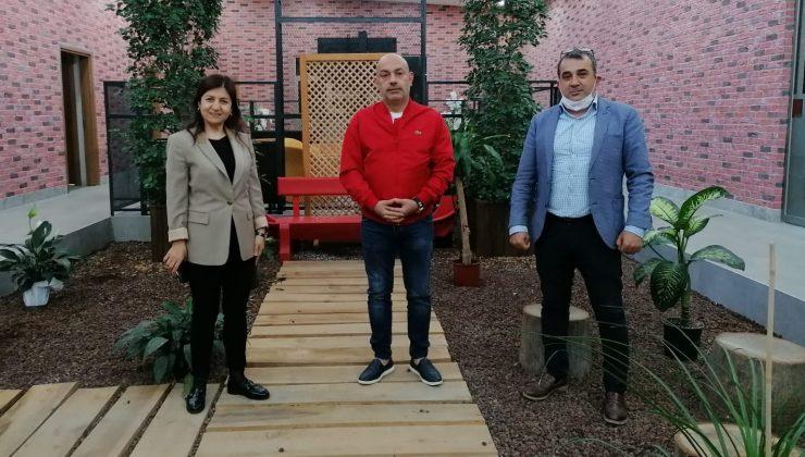 TEMİZYÜREK'TEN AGF GENEL BAŞKANI COŞKUN'A ZİYARET