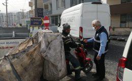 Arsuz'da Hurdacı, Kağıt Toplayıcı ve Eskici Denetimi
