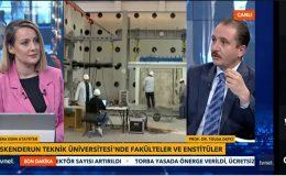 İSTE Rektörü Prof. Dr. Tolga Depci TVNET'E Konuk Oldu