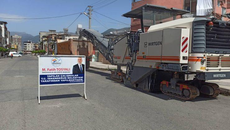 İskenderun Belediyesi Kısıtlamayı Fırsata Çevirdi