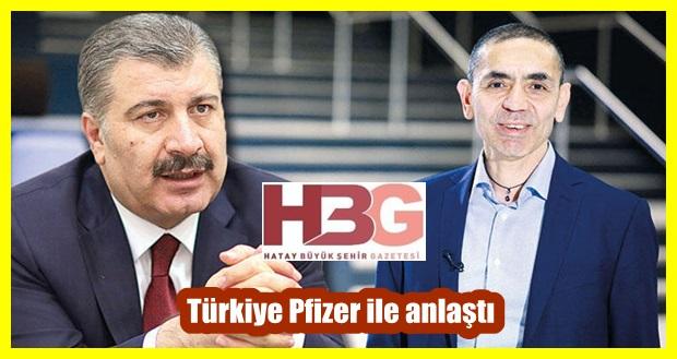 Türkiye Pfizer ile BioNTech aşısı satışı konusunda anlaştı