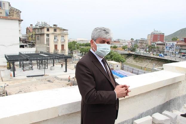 Hatay Devleti Meclis Binası restorasyonunda sona yaklaşıldı