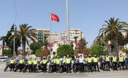 Hatay'da Trafik Haftasına konvoylu kutlama