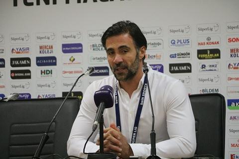 """Ömer Erdoğan: """"Gaziantep FK maçından galip gelip, Sivasspor'un puan kaybını bekleyeceğiz"""""""