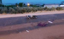 Hatay'da kamyon motosiklete çarptı: 2 yaralı