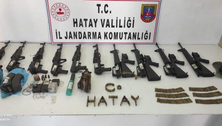 Amanos Dağlarında PKK'nın yer altı deposu bulundu