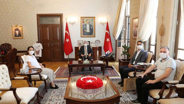 Anadolu Ajansı'ndan Vali Doğan'a Ziyaret