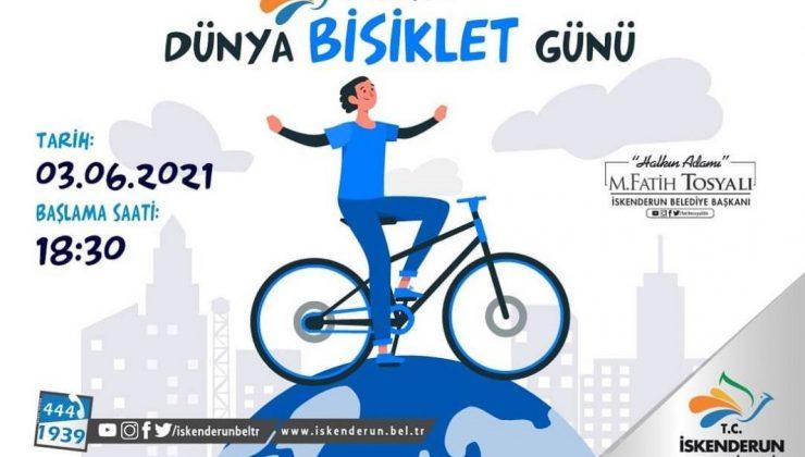 "İskenderun Belediyesinden ""Bisiklet Turu"""