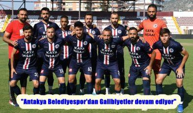 """""""Antakya Belediyespor'dan Galibiyetler devam ediyor"""""""