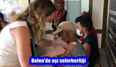 Belen'de aşı seferberliği