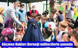 Göçmen Hakları Derneği mültecilerin yanında