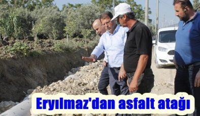 Eryılmaz'dan asfalt atağı