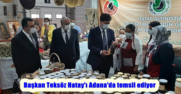 Başkan Teksöz Hatay'ı Adana'da temsil ediyor