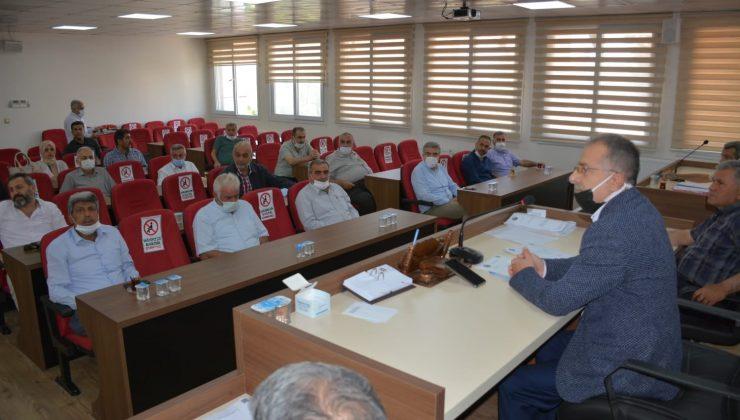 Kırıkhan Belediye Meclisi Haziran ayı olağan toplantısını yaptı