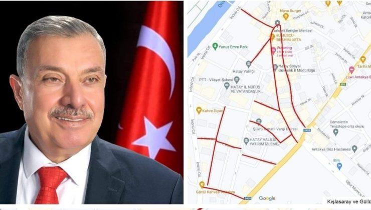 """""""Antakya Belediyesi'nin asfalt atağı devam ediyor"""""""