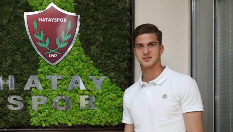 Hatayspor'a 18 yaşında forvet